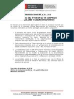 COMUNICADO- MINISTERIO DEL INTERIOR NO HA COMPRADO BINOCULARES NI VISORES NOCTURNOS.doc
