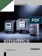 Manual Variador Siemens