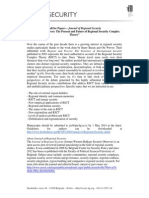"""Call for Papers -Journal of Regional Security - """"Regions and Powers"""