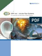 GRP Non Circular Pipe Systems