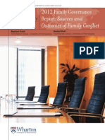 WGFA 2012 Family Governance Report July 12 2012