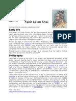 Fakir Lalon Shai