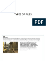 Types of Piles