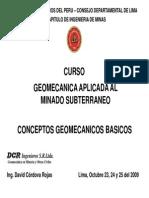 Geomecanica Conceptos