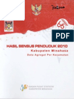 sensus penduduk tahun 2010 kab toraja utara