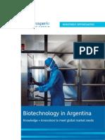 Biotechnology in Argentina