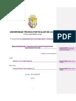 Modelo de Caratula y Preliminares