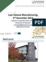 031213 Low Volume Manufacturing DISTRIBUTION