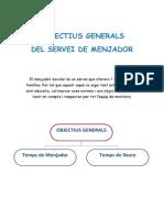 Objectius Del Menjador Duran i Bas