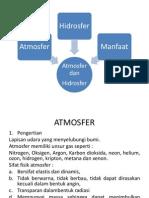 Atmosfer Dan Hidrosfer