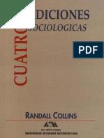 Cuatro tradiciones sociológicas