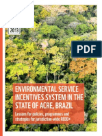 WWF, 2013 ENV INCENTIVES in Acre Brazil Sisa Report English 10 13