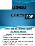 Why Ethics Makes Good Business Sense