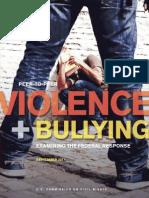 2011 Peer-To-Peer Violence and Bullying