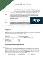 2014-2015 information for applicants form rev feb 4 2014