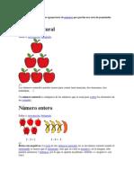Los conjuntos numéricos son agrupaciones de números que guardan una serie de propiedades estructurales