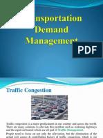 Transport Demand Management - Final