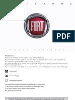 Fiat Croma Owner Handbook