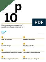 10 Razones Para Elegir SAP Para La Movilidad Empresarial