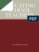 Educating Teachers Report