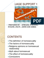 Epigenome homosexuality in christianity