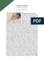 """""""Friedrich Nietzsche y el Estado"""" por Nicolás González Varela"""
