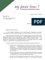 9bis - Réponse GUEB associations - 28.4.2009