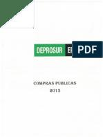 Compras Publicas 2013