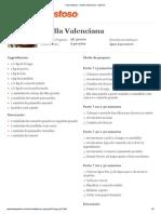 Tudo Gostoso - Paella Valenciana - Imprimir