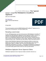 Special Sauce Inside WebSphere Cloudburst