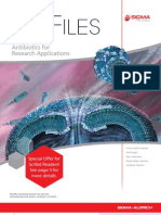 Antibiotics for Research Applications - BioFiles Issue 4.3