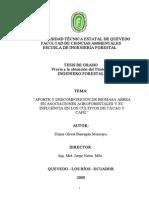APORTE_DESCOMPOSICIÓN_BIOMASA_AÉREA_ASOCIACIONES_AGROFORESTALES_INFLUENCIA_CULTIVOS_CACAO_CAFÉ
