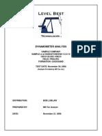 Dynamometer A