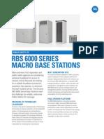 RBS 6000 Spec Sheet