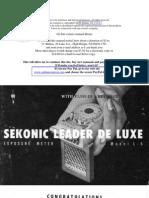 Sekonic Leader de Luxe