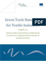 GreenTOOLS Handbook FINAL-Textile Products