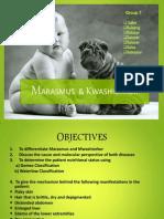 Marasmus and Kwashiorkor