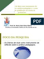 DIÁRIOS NA FORMAÇÃO INICIAL DE PROFESSRES