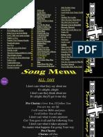 Camp Songs 2014