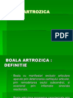 Curs 2. Boala Artrozica