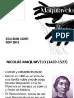 EDUC 8530 El Principe