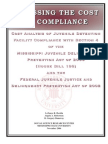 Assessing the Cost of Compliance