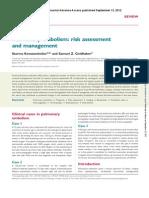 Pulmonary Embolism - European Heart Journal 2012