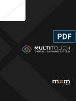 MXM Health - MultiTouch Brochure