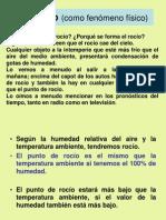 Teorico Puente térmico  p. rocío._