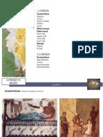 Pintura y Mosaico romano