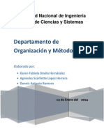 Proyecto de Organizacion I