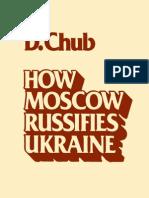 How Moscow Russifies Ukraine