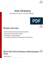 02 Admintrating Active Directory