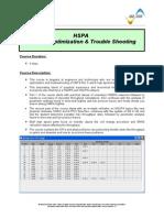 HSPA - Network Optimization & Trouble Shooting v1.2